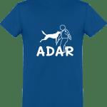 Tee Shirt ADAR Homme Col rond Manches Courtes Classique 150 gr