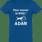 Pour sauver le Ring Tee Shirt Homme Col rond Manches Courtes Classique 150 gr