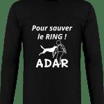 Pour sauver le Ring Tee Shirt Homme Original Manches Longues