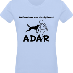 Défendons nos disciplines T-shirt Femme 180g