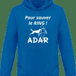 Sweat Shirt à Capuche Homme Pour sauver le Ring
